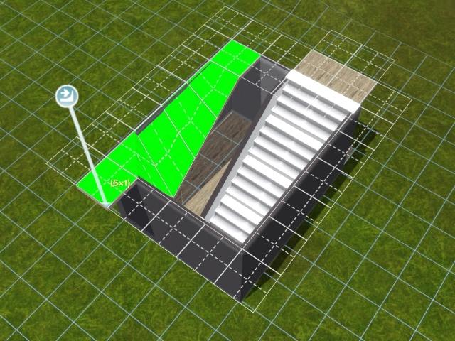 """[Apprenti] Construire une """"rampe"""" d'escalier contemporaine. Screen49"""