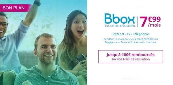 Internet ADSL + Forfait Mobile 30Go pour moins de 18€ chez Bouygues Telecom  Bbox7912
