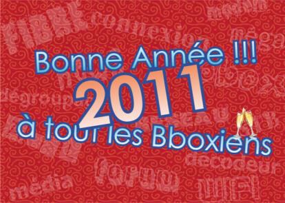 Bonne année 2011 !!! Bonnea11