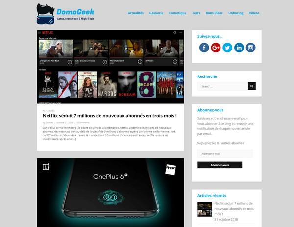 DomoGeek, notre nouvelle aventure 100% Geek & Domotique Domoge11