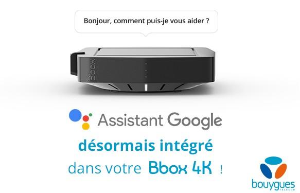 L'Assistant Google débarque sur la Bbox Miami 4K Ga_bbo11