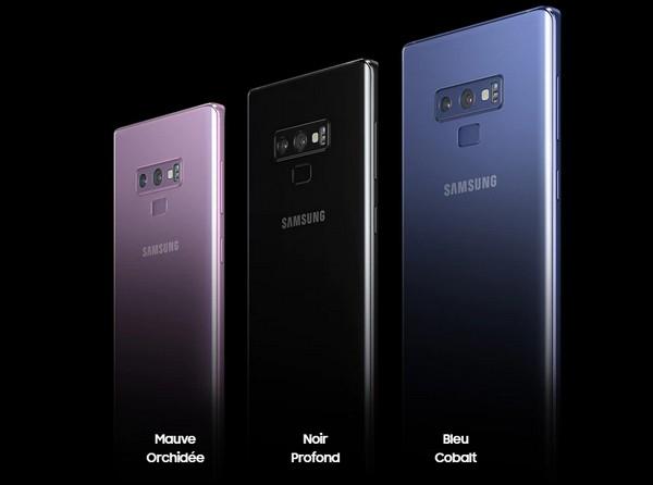 Le Samsung Galaxy Note 9 en précommande chez Bouygues Telecom à 129,90€ Galaxy10