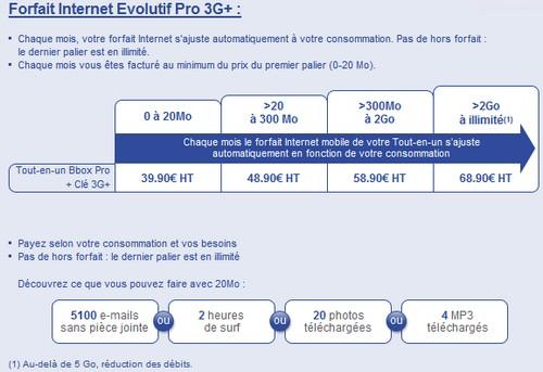 Le Tout-en-un Bbox Pro + Clé 3G+ Offrep11