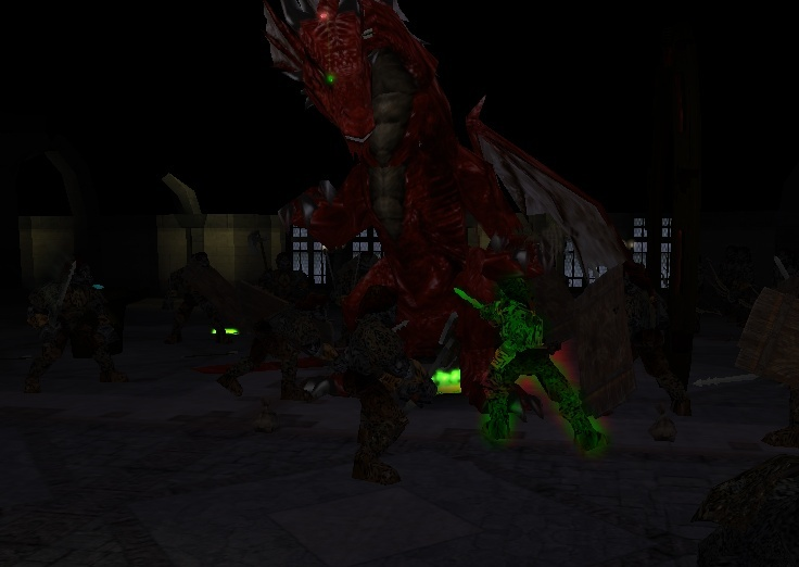 The Day A Dragon Came Through the Gate of Tesh.... Alexd010