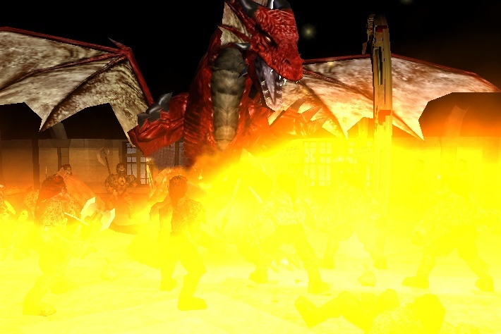 The Day A Dragon Came Through the Gate of Tesh.... Alexd011