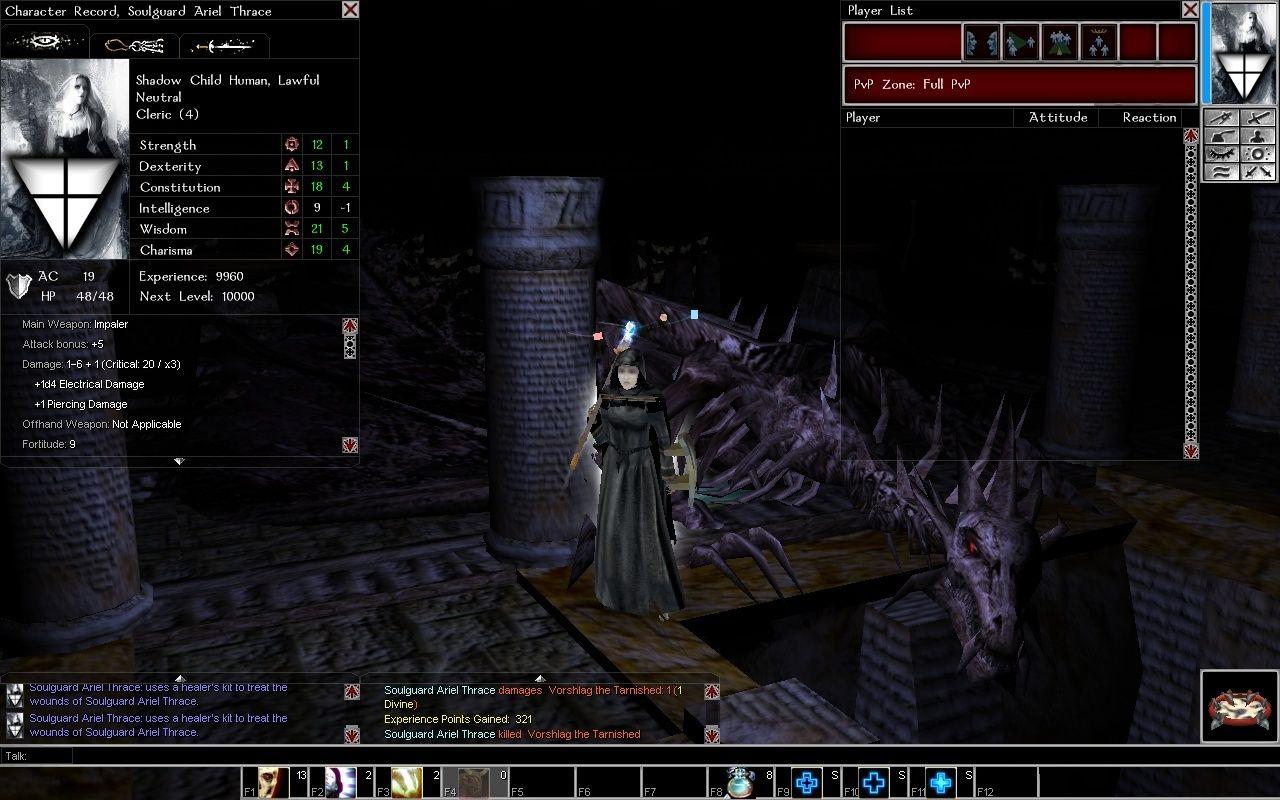 A Soulguard gets her career off to a helluva start.... Deaddr10