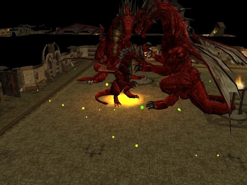 The Day A Dragon Came Through the Gate of Tesh.... Dragon10