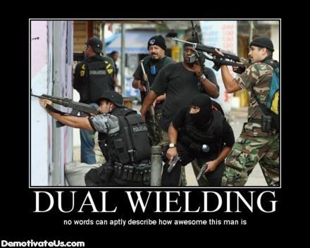 Duel Wielding Dual-w10