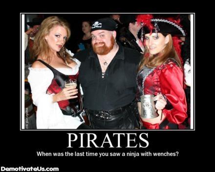 Ninjas save the day! Pirate10