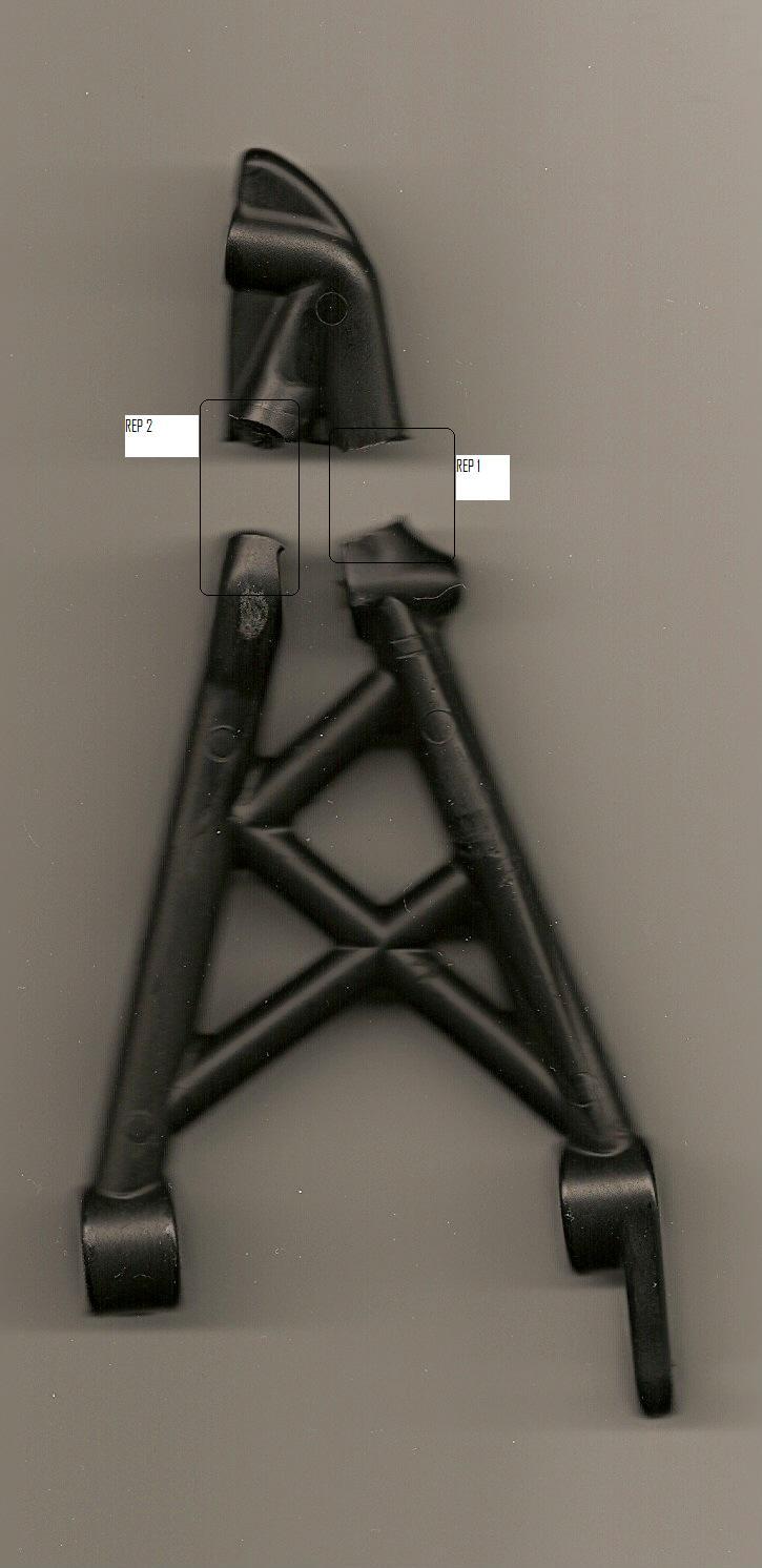casse Support de tour d'amortisseurs arrière Suppor11