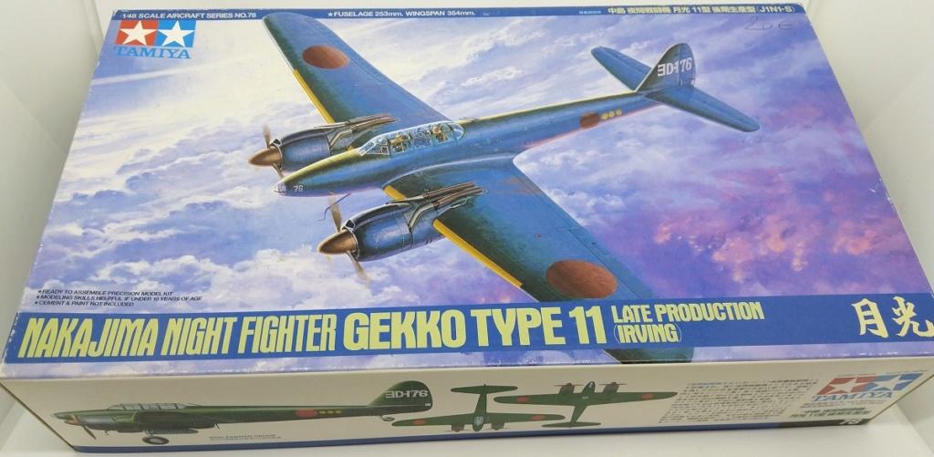 Nakajima Gekko - Tamiya 1/48 Gekko011