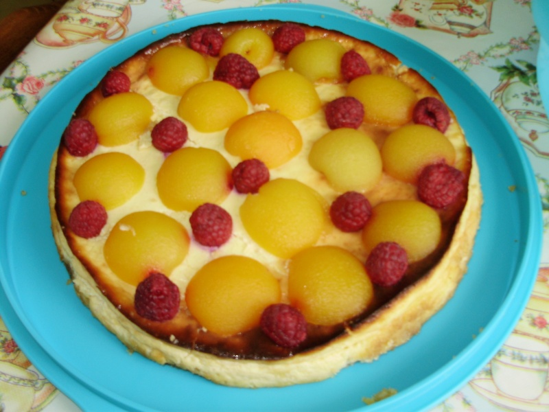 Cheese cake aux fruits Cheese10