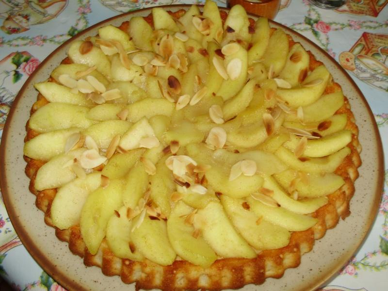 gâteau aux pommes caramélisées Specul11