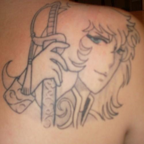 Ma Grosse collection Lady Oscar Tattoo10