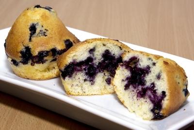 Muffins aux myrtilles Muffin11