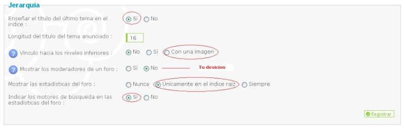 Problema con el diseño de las categorias y color de texto en perfil Ejempl10
