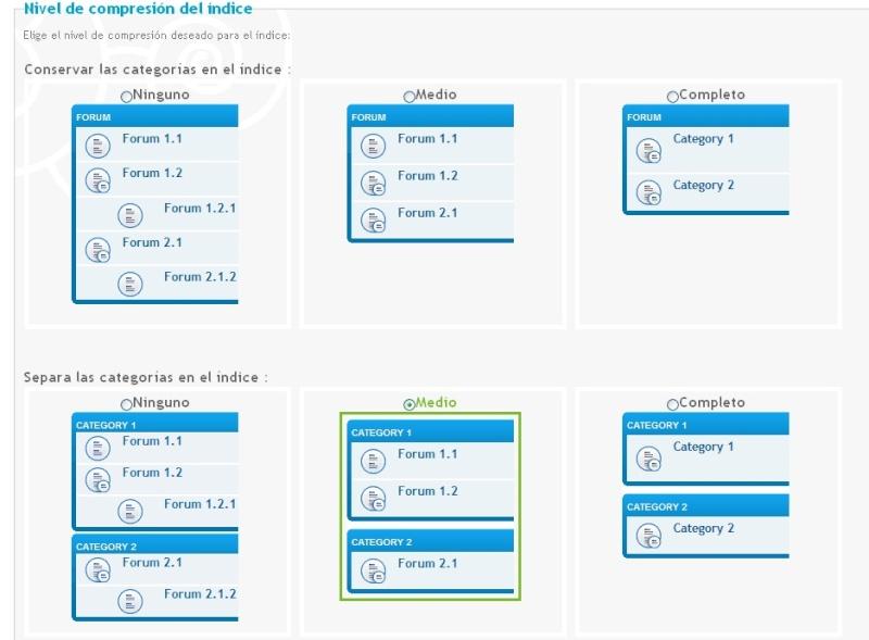 Problema con el diseño de las categorias y color de texto en perfil Medio_10