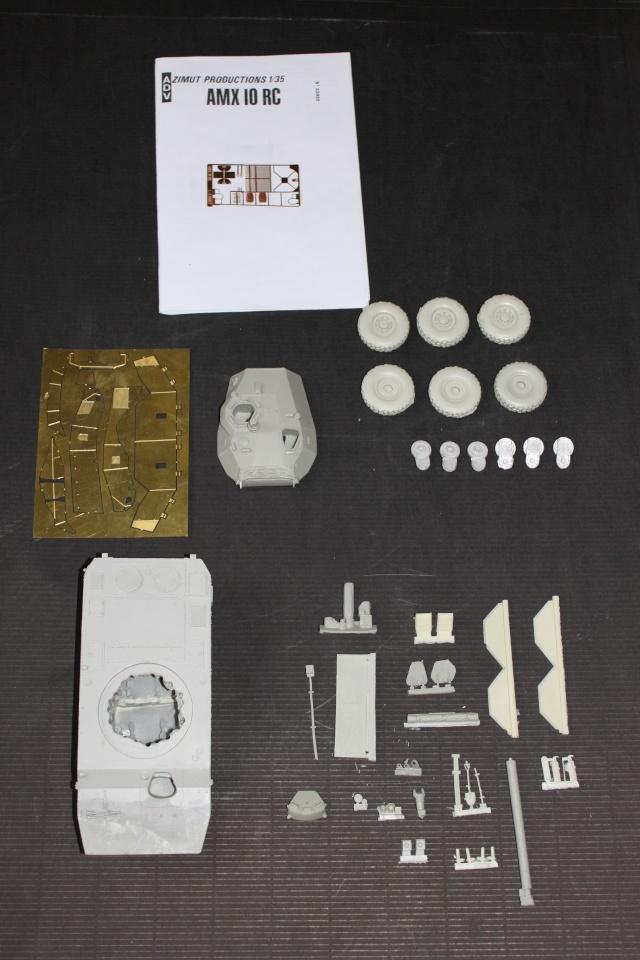 AMX 10RC [AZIMUT 1/35] Kit_am11
