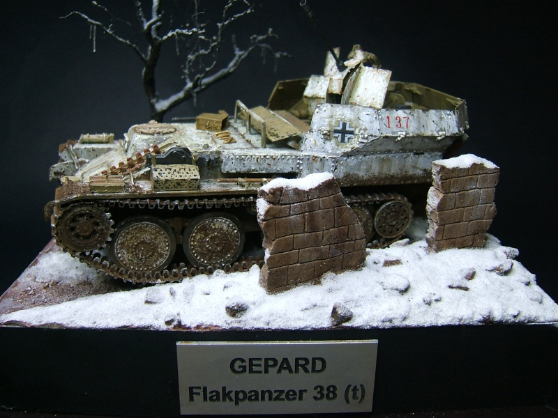 """flakpanzer 38(t) """"GEPARD""""  [Alan 1/35]  -Titou- Model-10"""