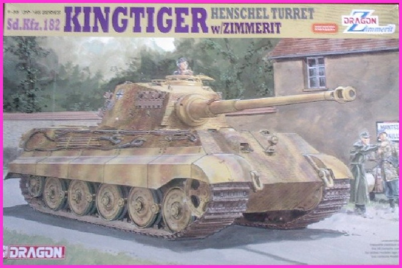 Le KingTiger au 1/35ème par l'ancien  Dragon King_t10