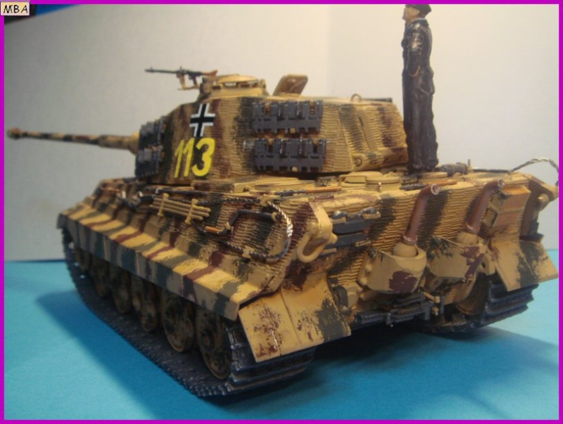 Le KingTiger au 1/35ème par l'ancien Dragon King_t20