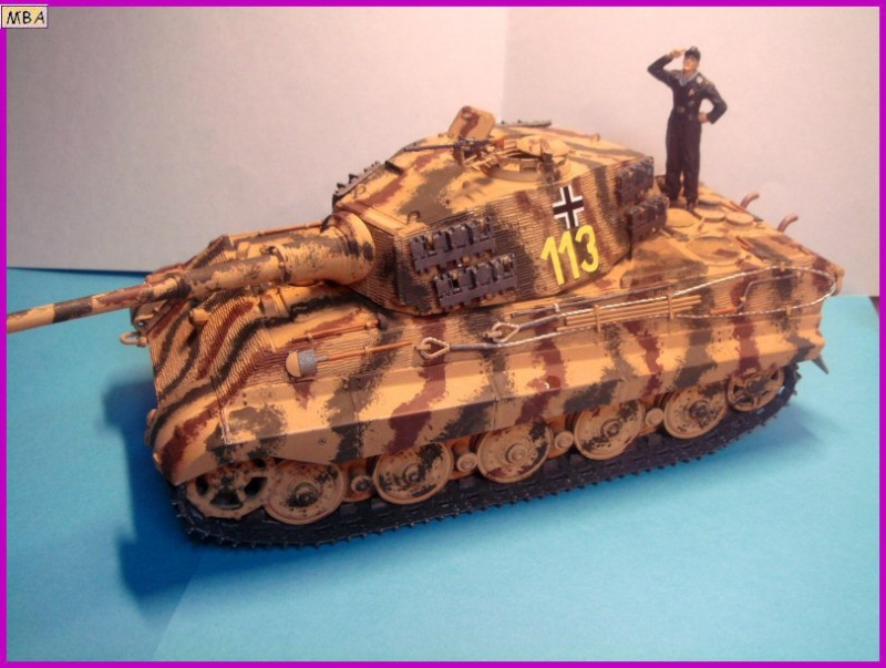Le KingTiger au 1/35ème par l'ancien Dragon King_t21