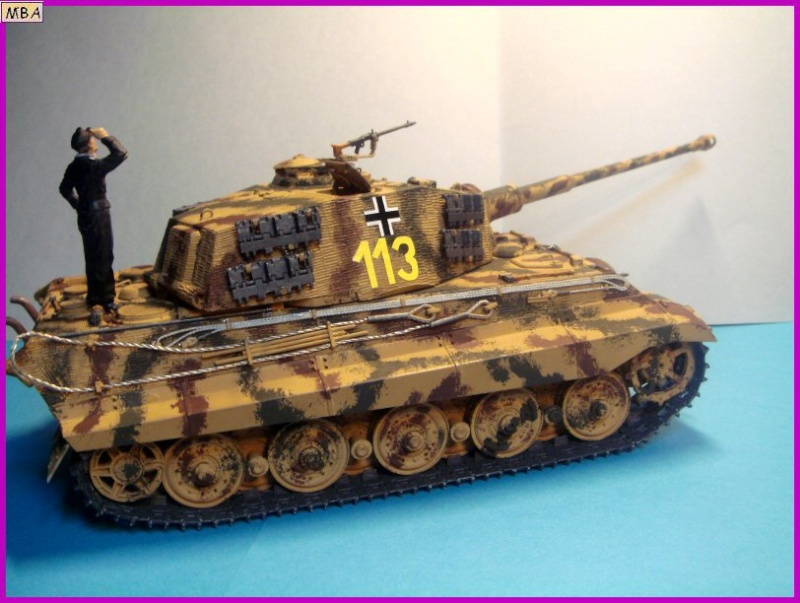 Le KingTiger au 1/35ème par l'ancien Dragon King_t22