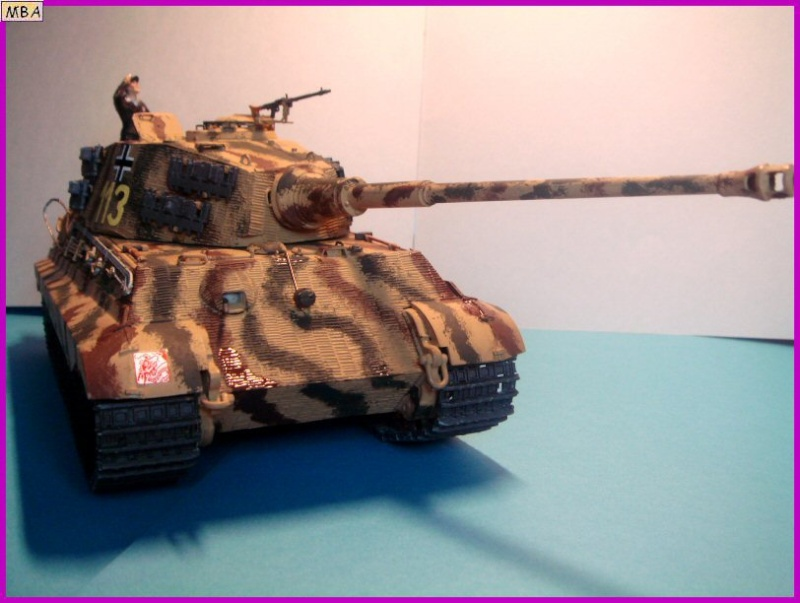 Le KingTiger au 1/35ème par l'ancien Dragon King_t23