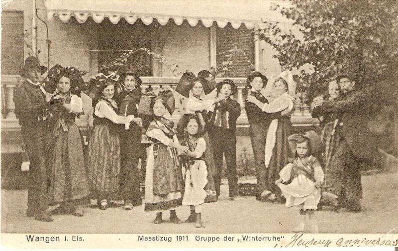 Wangen:le vin,la fontaine,la fête... 1911_210