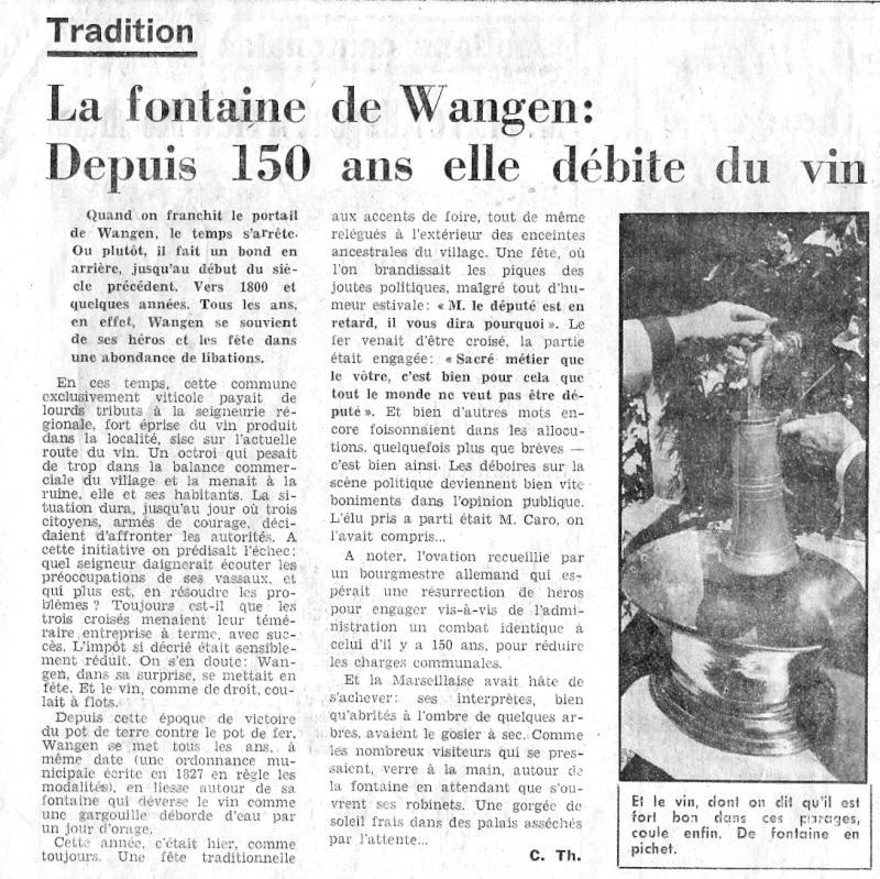 Wangen:le vin,la fontaine,la fête... Articl12