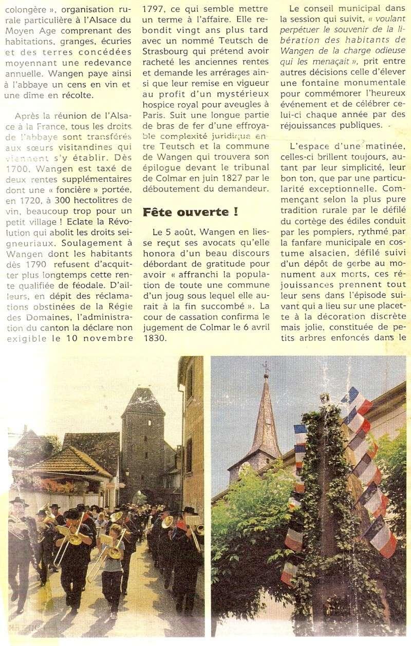 Wangen:fête de la fontaine 1987 Fontai12