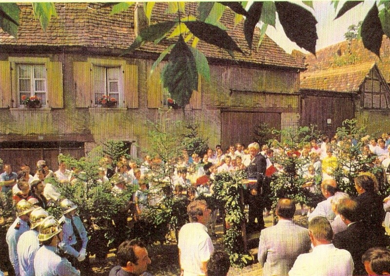 Wangen:fête de la fontaine 1987 Fpnt_111