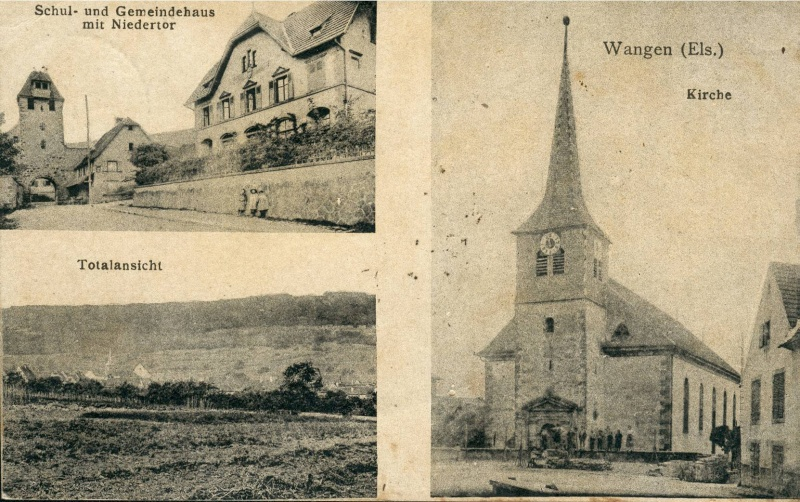 cartes postales - Cartes postales anciennes de Wangen Vue_1010