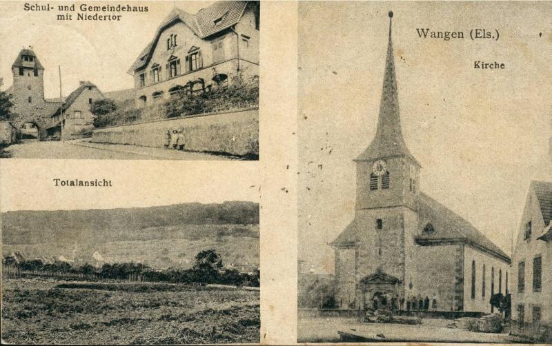 Cartes postales anciennes de Wangen Vue_1010