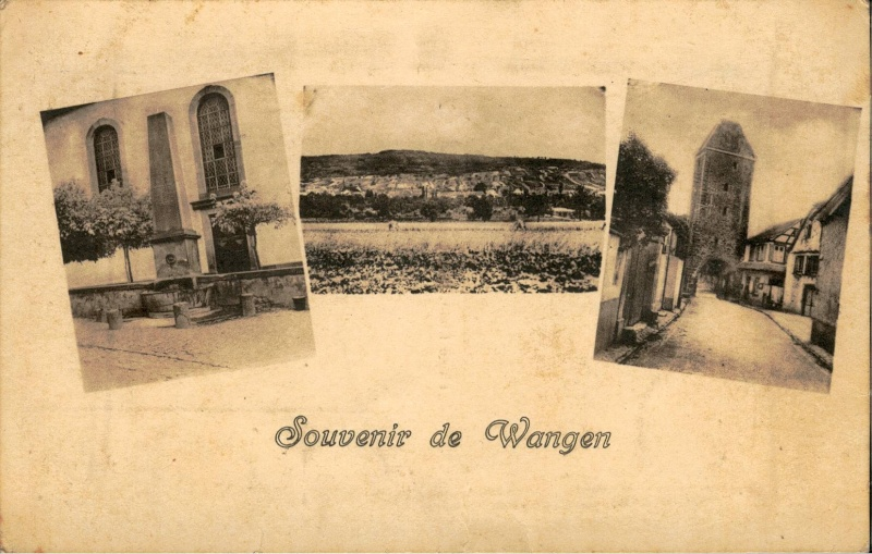 cartes postales - Cartes postales anciennes de Wangen Vue_1210