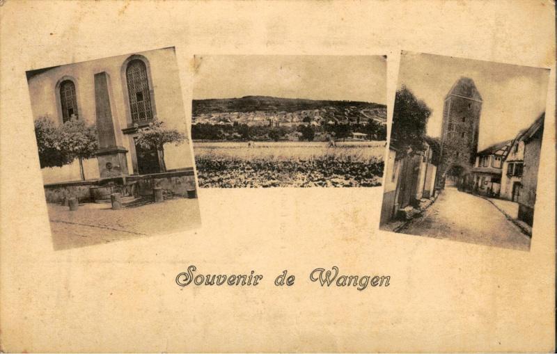 Cartes postales anciennes de Wangen Vue_1210
