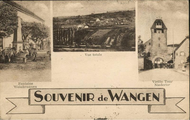 cartes postales - Cartes postales anciennes de Wangen Vue_1310