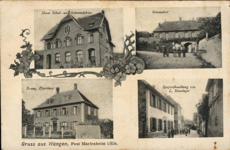Cartes postales anciennes de Wangen Vue_210