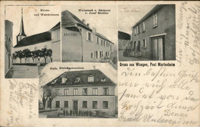cartes postales - Cartes postales anciennes de Wangen Vue_610