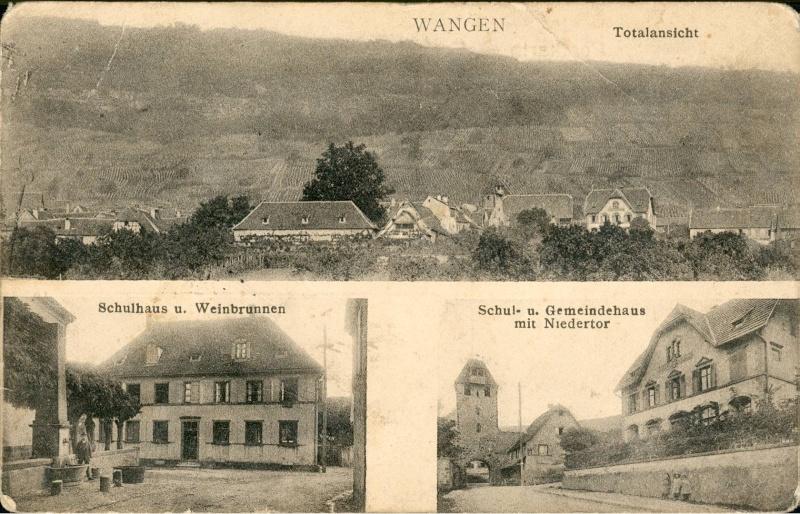 cartes postales - Cartes postales anciennes de Wangen Vue_810