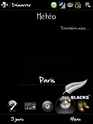 Thème All blacks Diamond Screen22