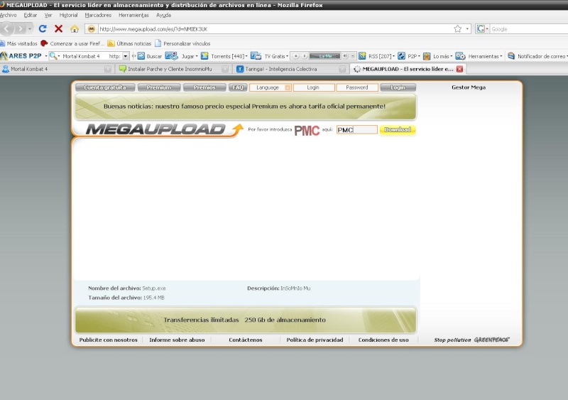 Como descargar de Megaupload, Tutorial By ElMg Adasda10
