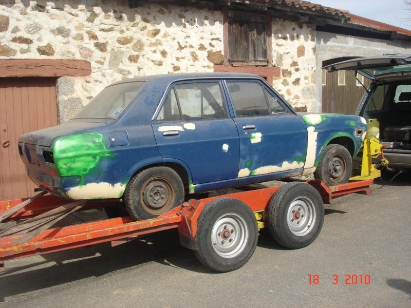 Datsun 1200 ,par içi ........... Datsun89