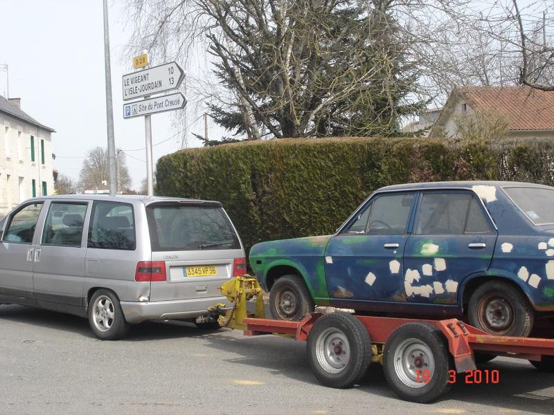 Datsun 1200 ,par içi ........... Datsun91
