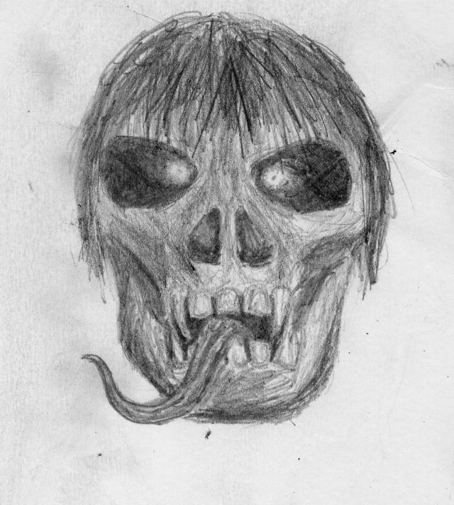 20 minutes of effort at midnight! Skull13