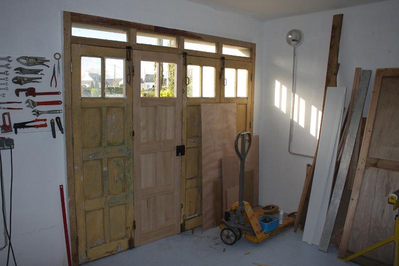 Restauration d'une porte de garage. - Page 2 26_mar22