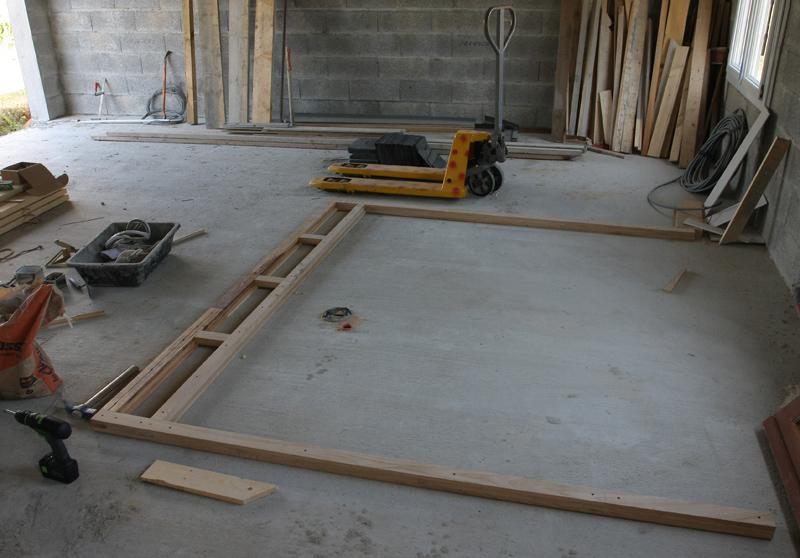 Restauration d'une porte de garage. 28_jui14