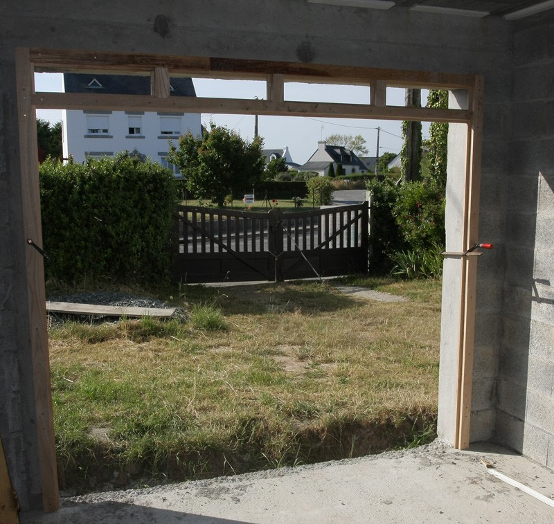 Restauration d'une porte de garage. 28_jui16