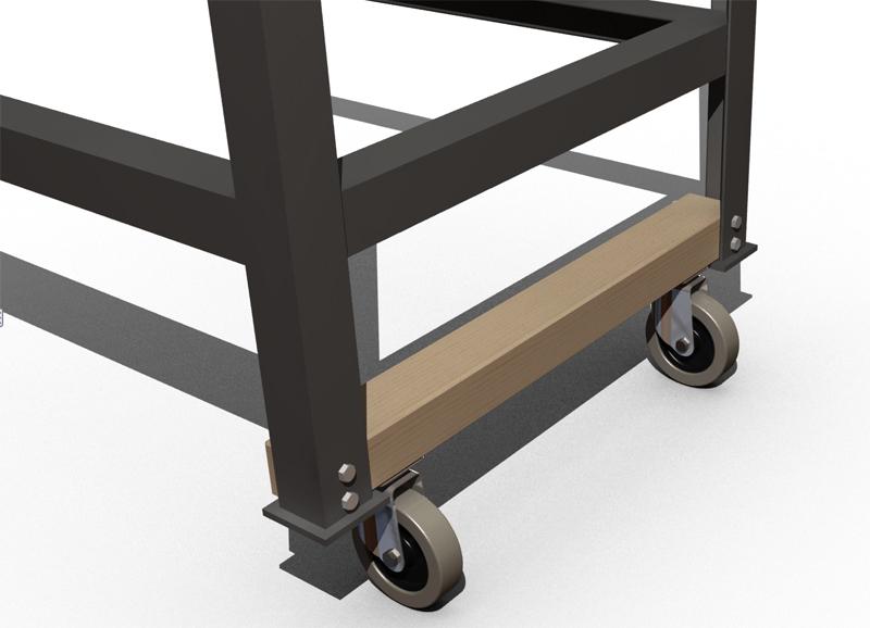 besoin de votre avis roulette pour table multifonction. Black Bedroom Furniture Sets. Home Design Ideas