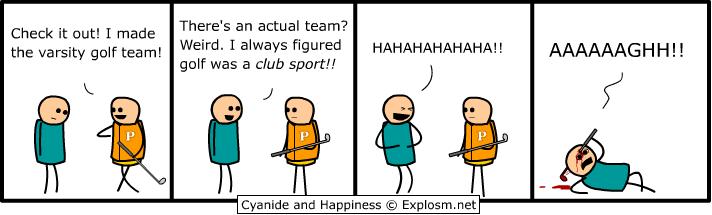 Funny Day Comic Golf10